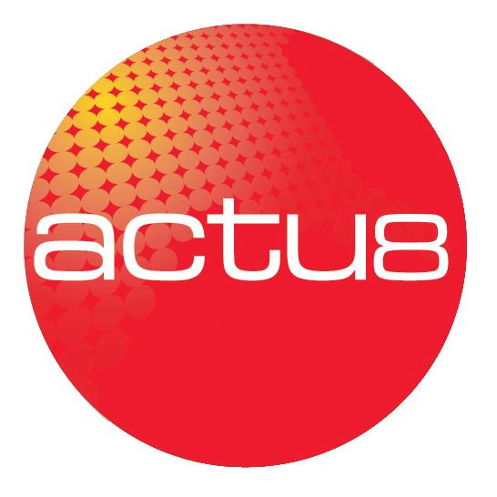 Actu8 logo