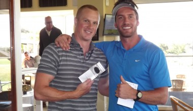 Nearest to the pin (3rd) Kel Moore and Brad Fisher