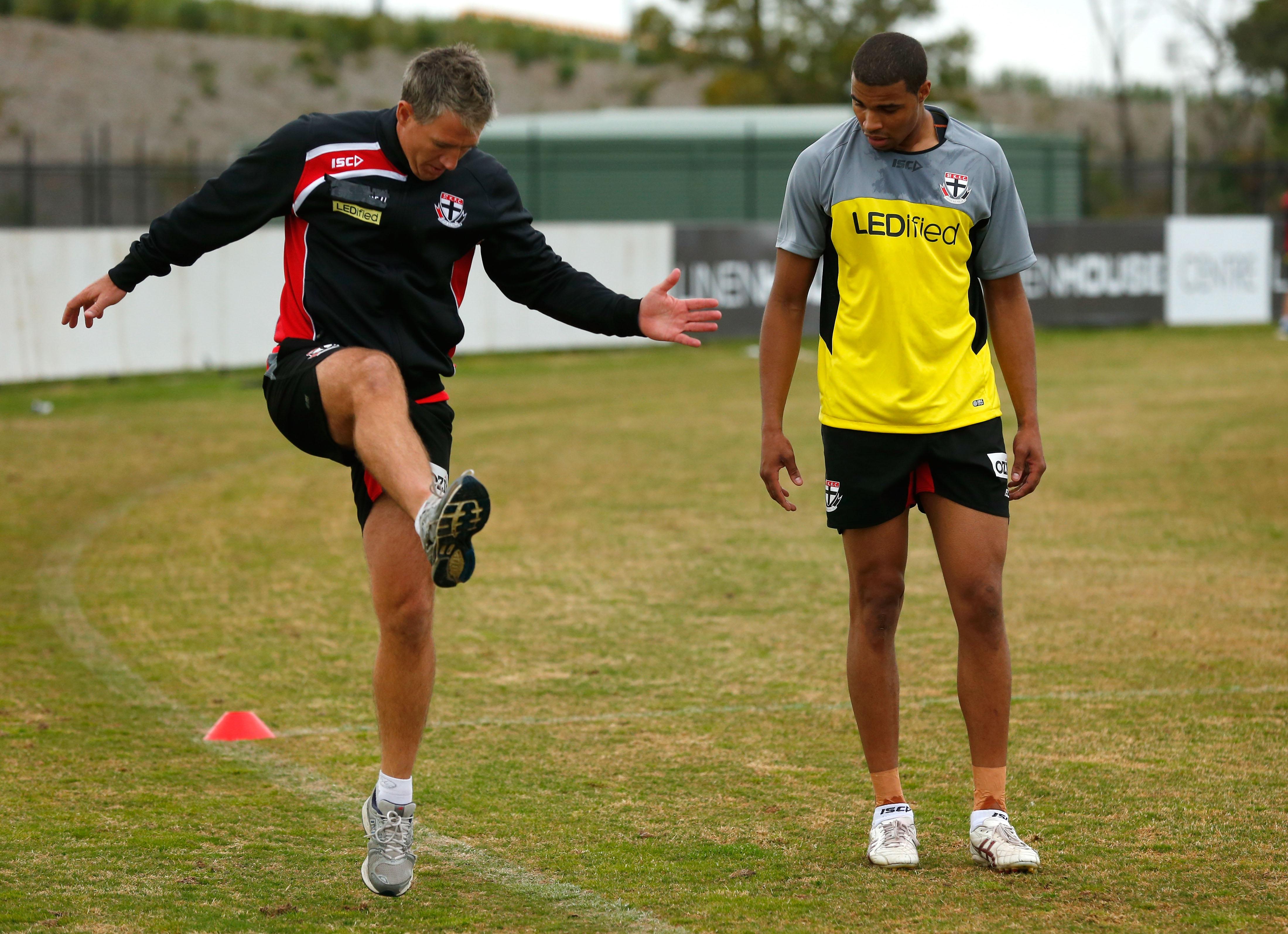 AFL 2013 Training - St Kilda 081113