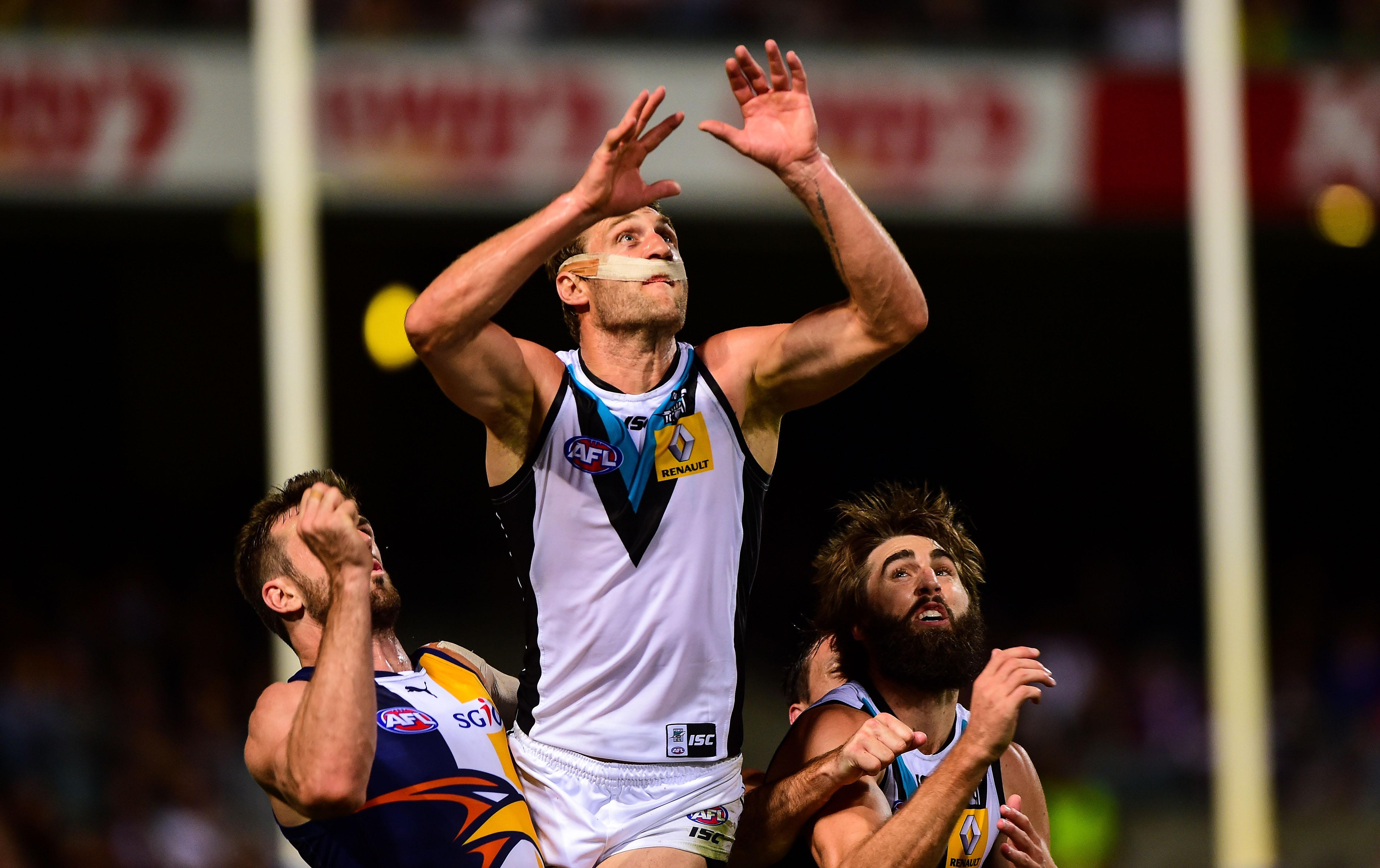 AFL 2014 Rd 05 - West Coast v Port Adelaide