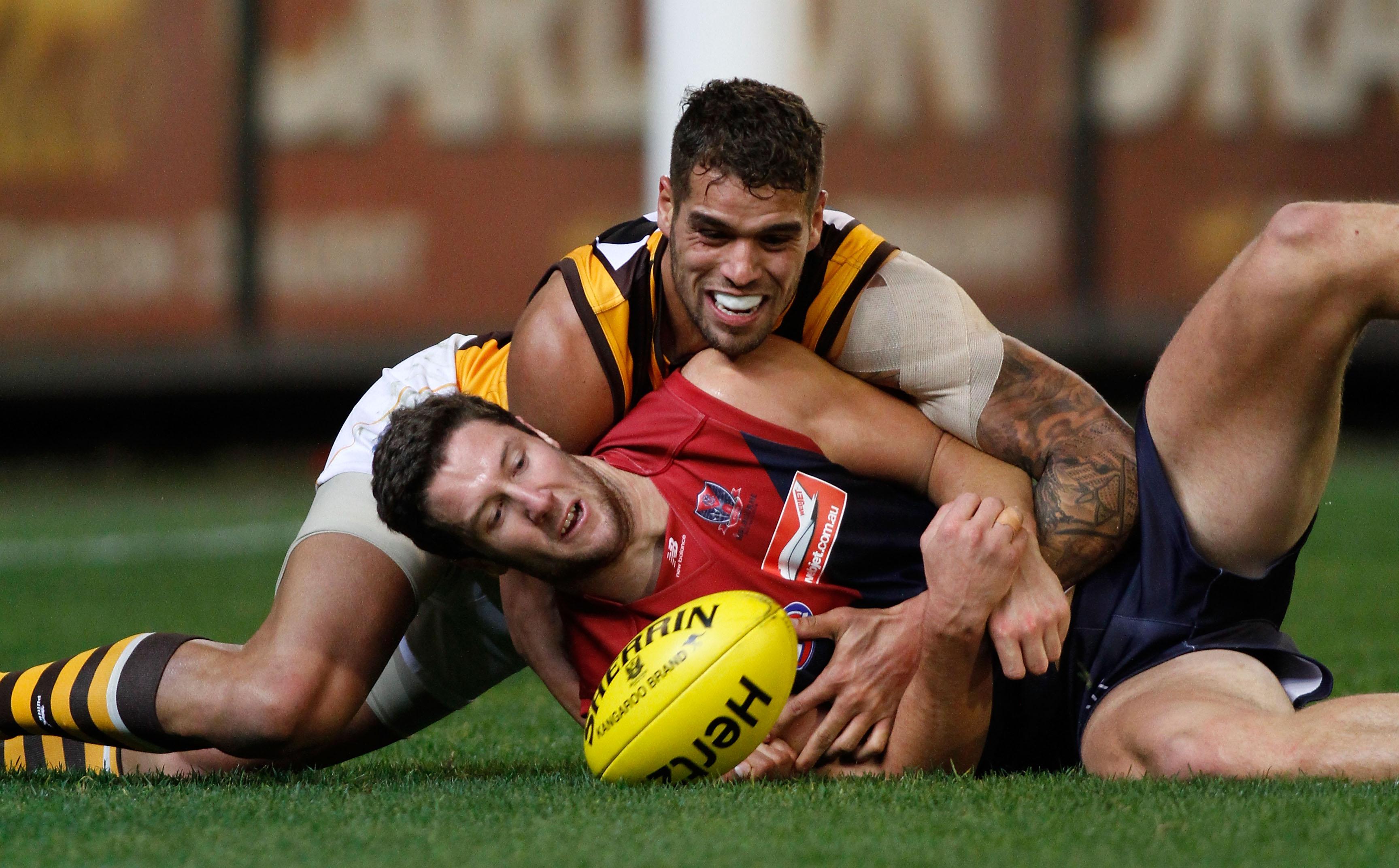 AFL 2012 Rd 07 - Melbourne v Hawthorn
