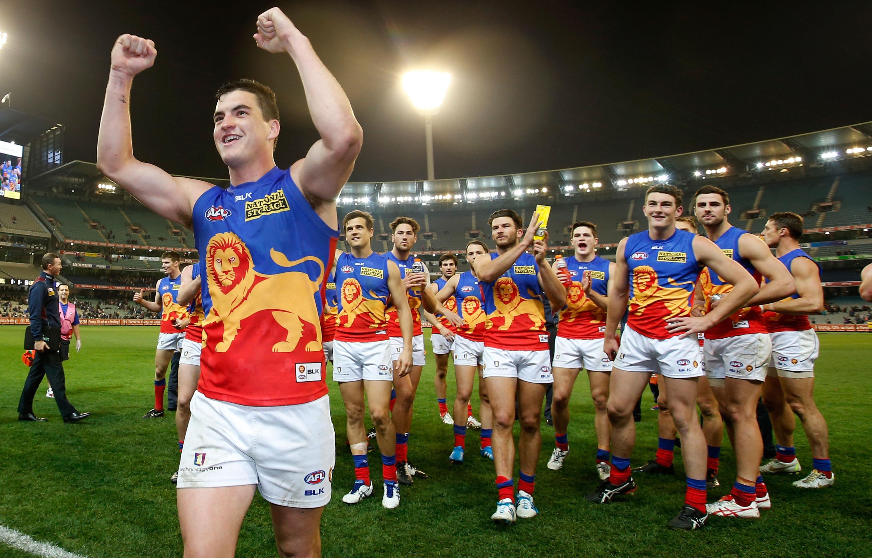 AFL 2014 Rd 21 - Collingwood v Brisbane