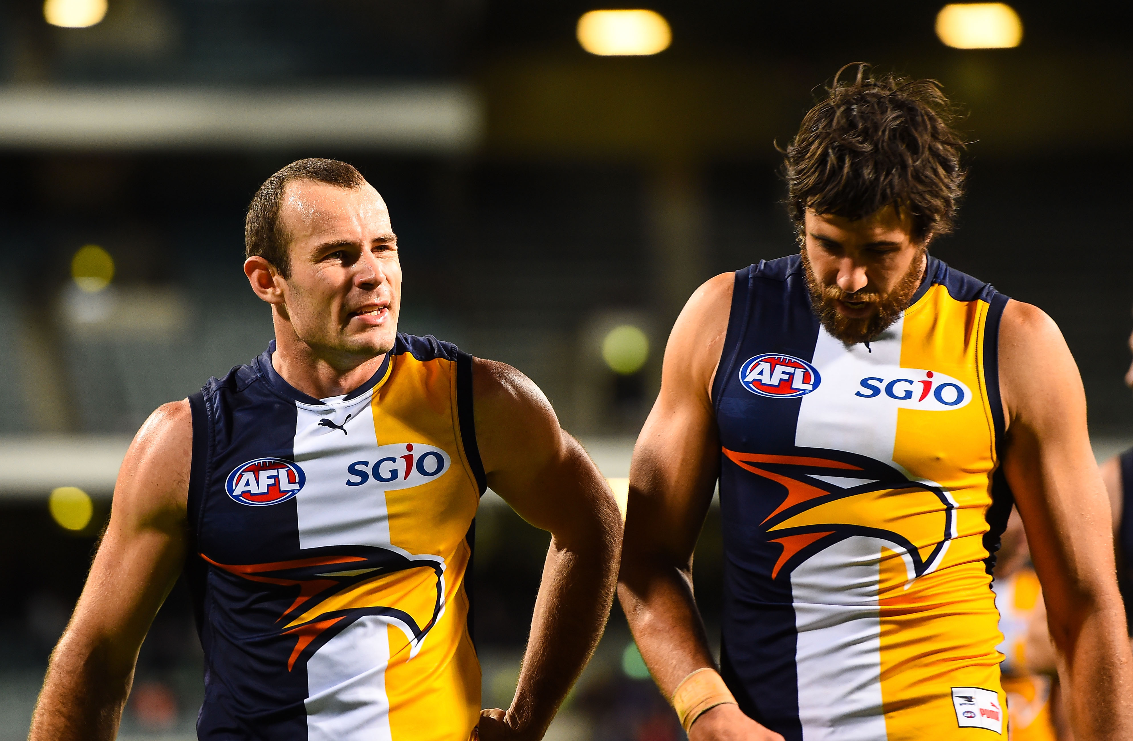 AFL 2015 NAB Challenge - West Coast v Fremantle