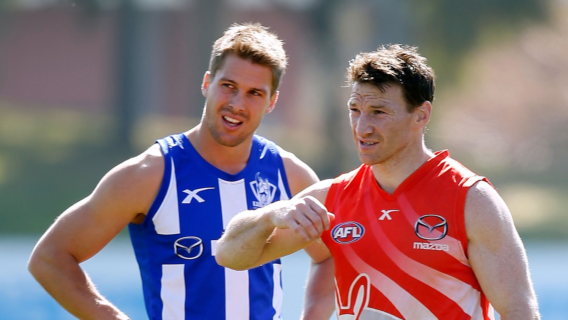 AFL 2014 Training - North Melbourne 050914