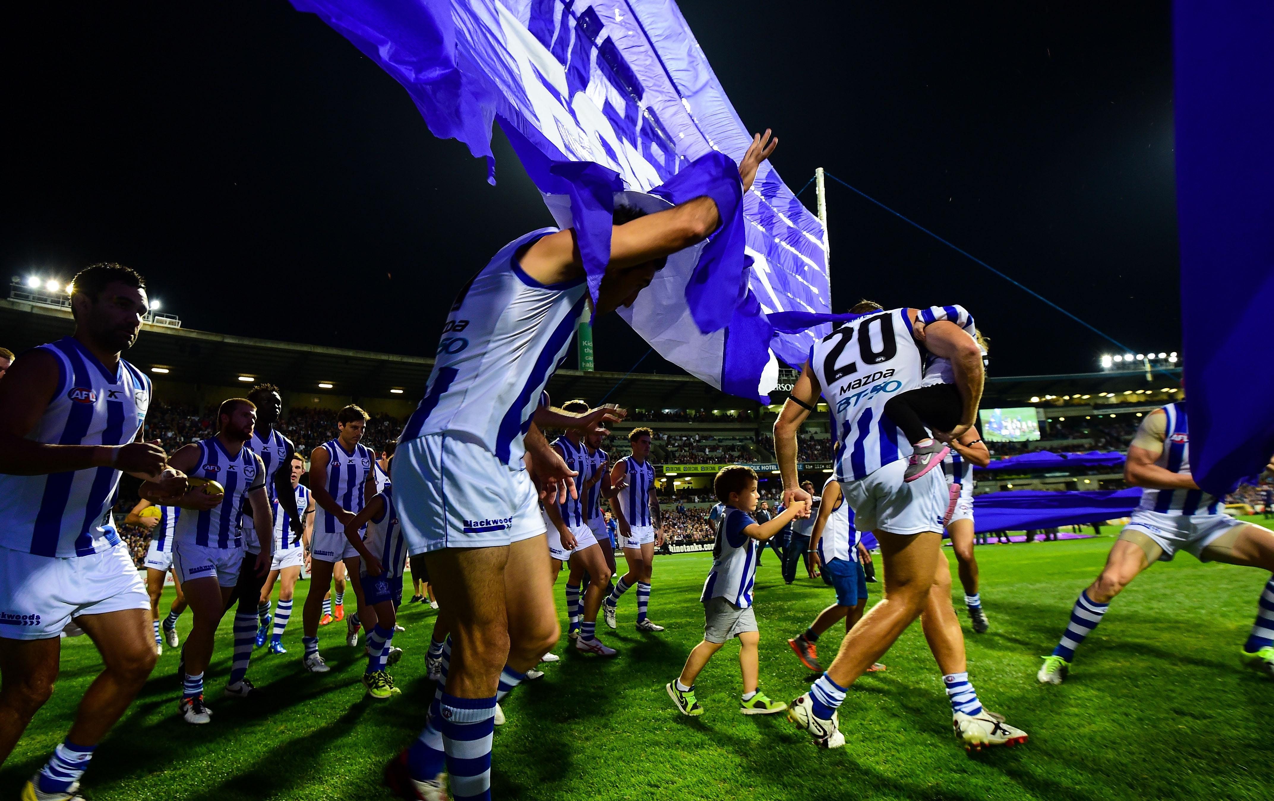 AFL 2014 Rd 06 - Fremantle v North Melbourne