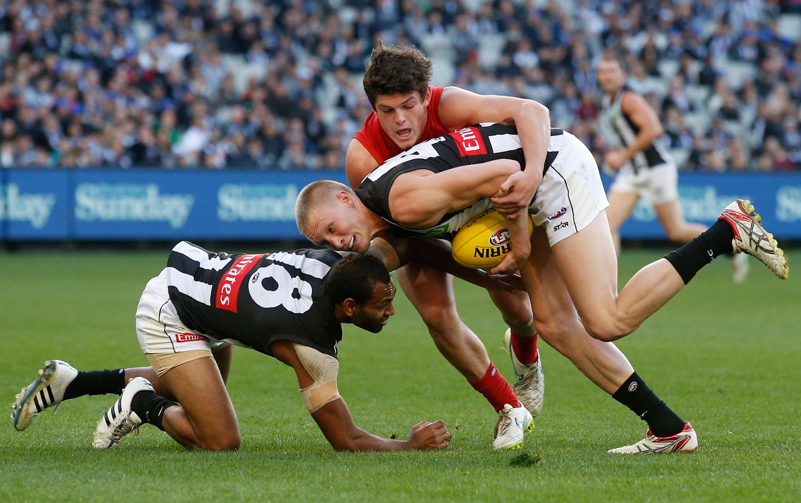 AFL 2015 Rd 10 - Melbourne v Collingwood