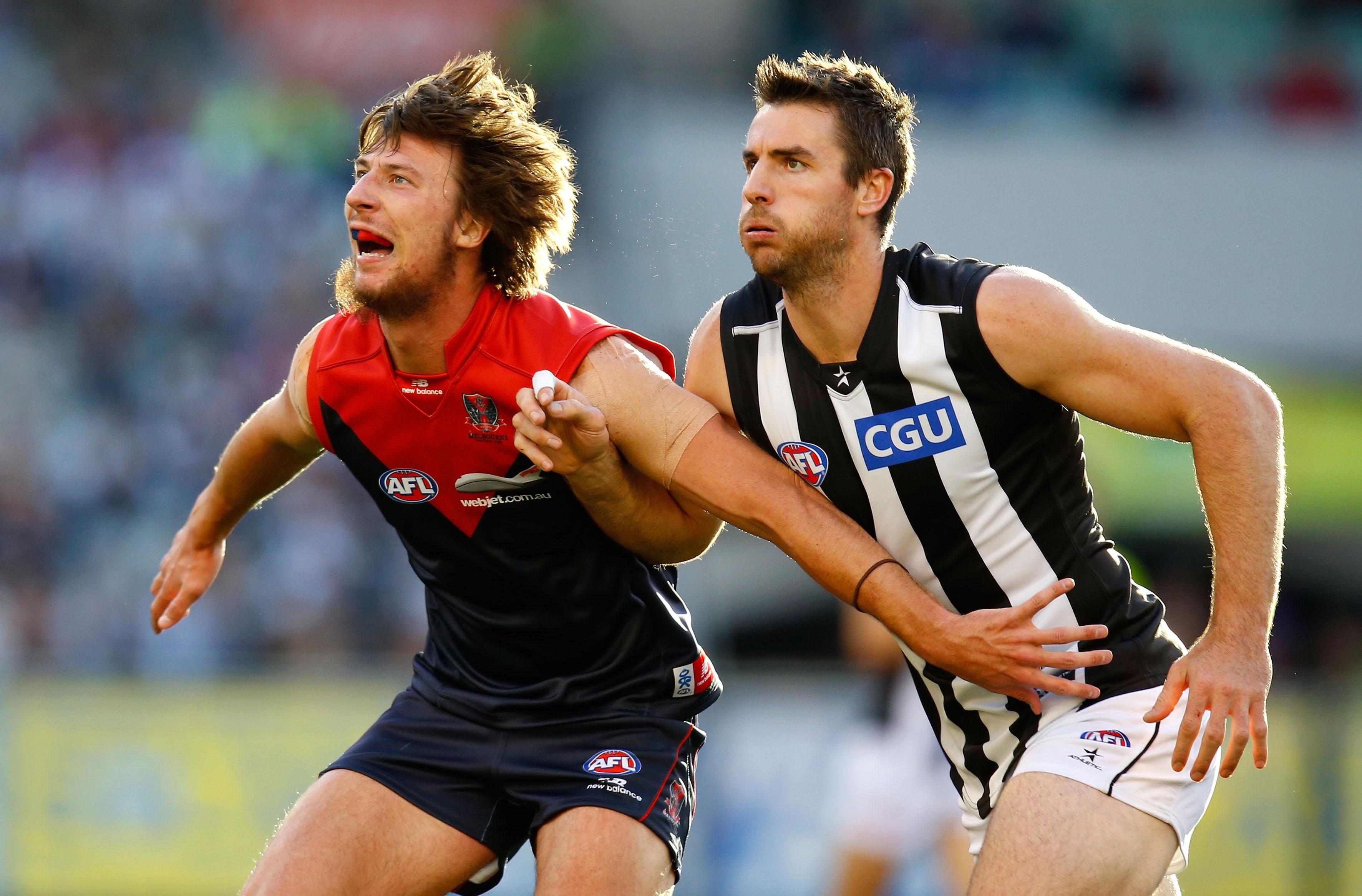 AFL 2013 Rd 11 - Melbourne v Collingwood