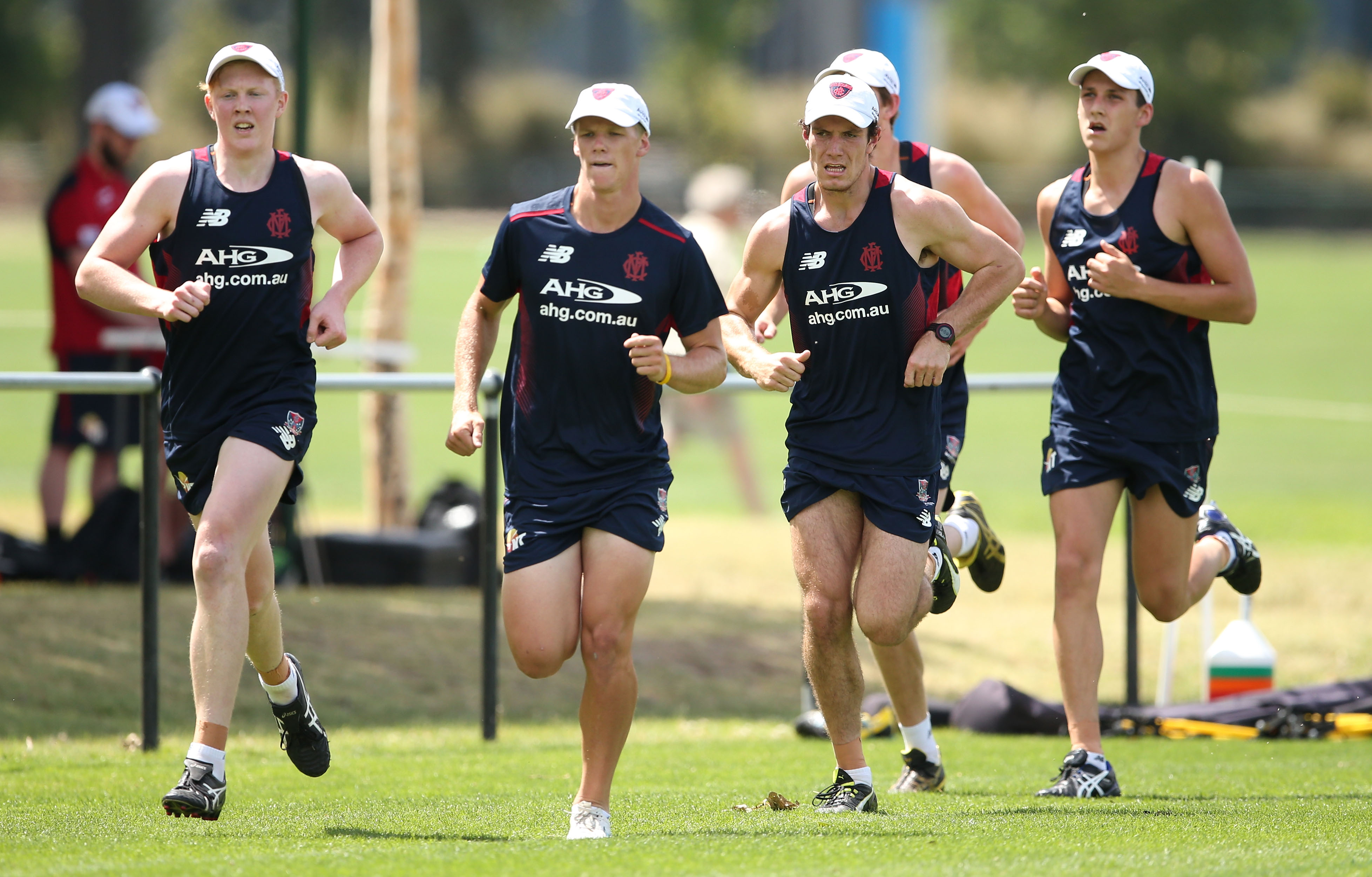 AFL 2015 Training - Melbourne 301115