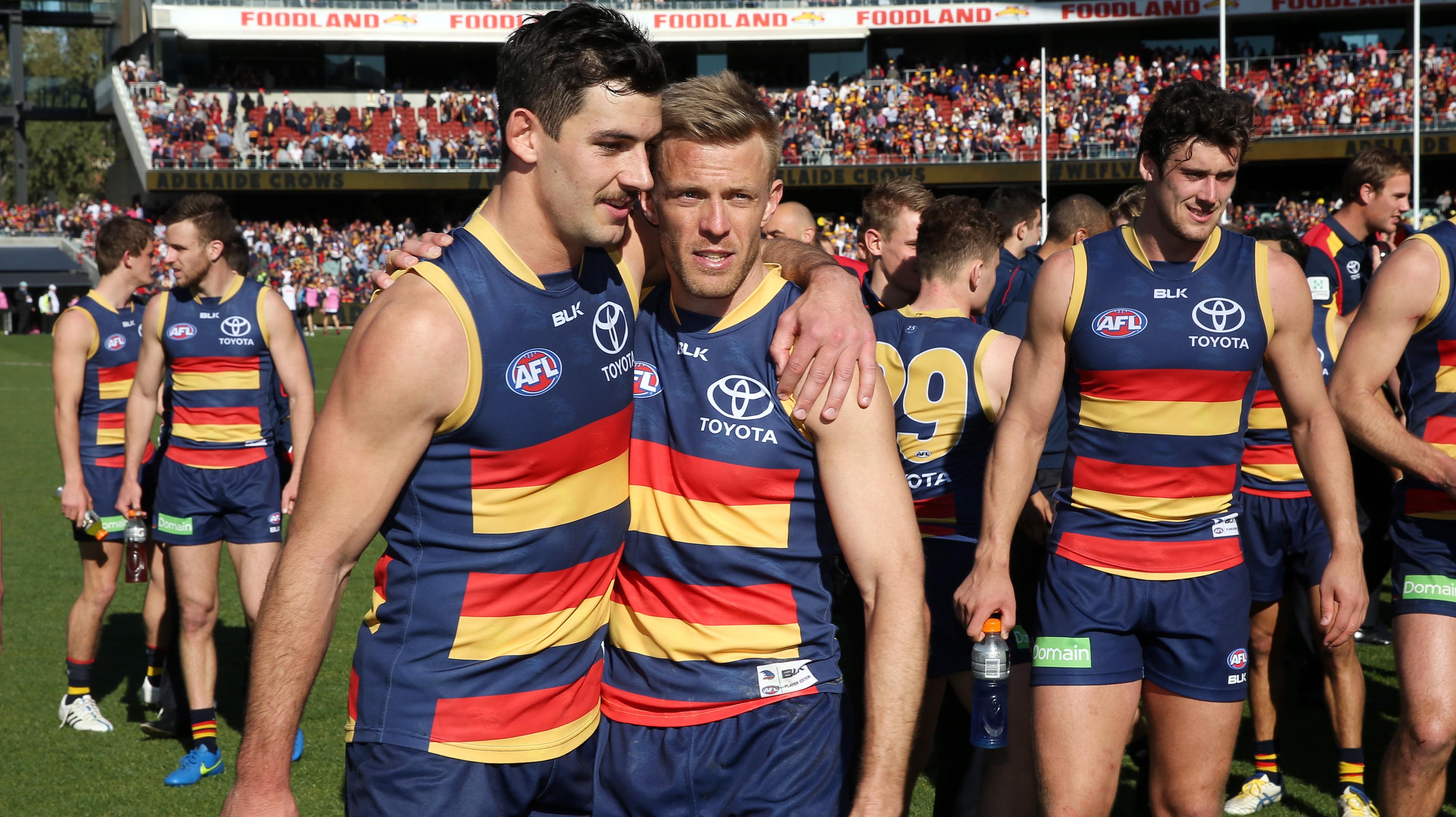 AFL 2015 Rd 22 - Adelaide v West Coast