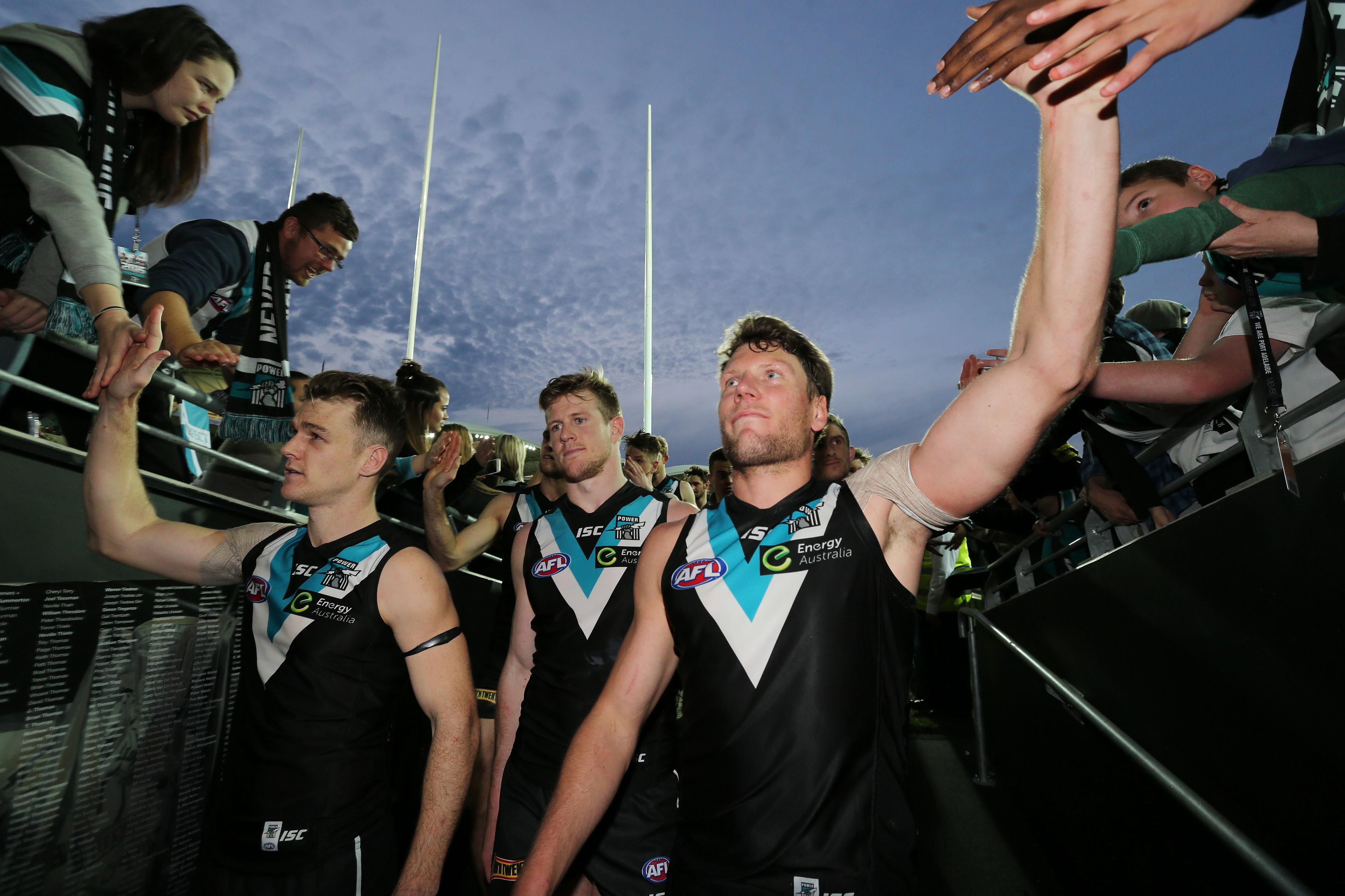 AFL 2015 Rd 23 - Port Adelaide v Fremantle