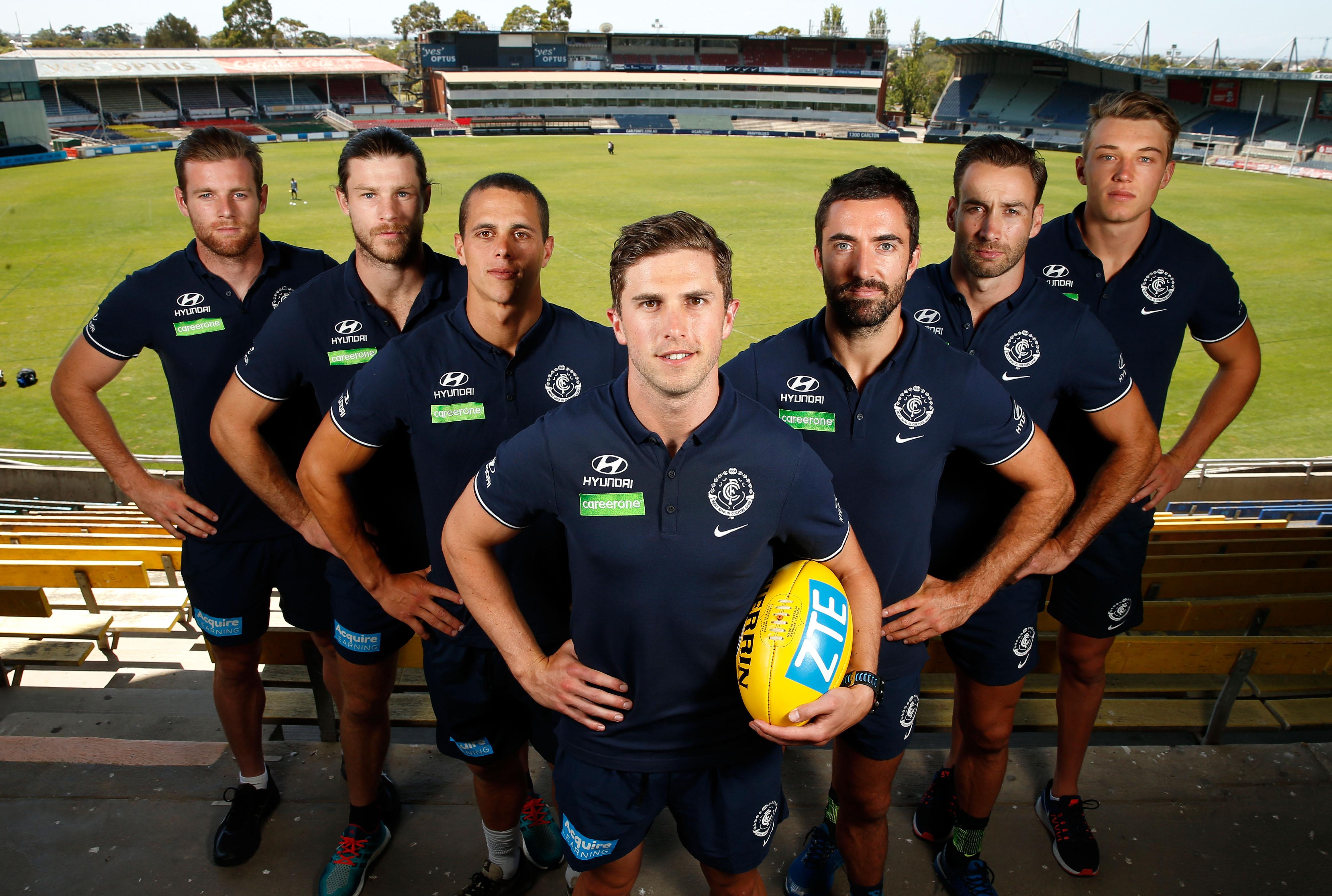 AFL 2016 Media - Carlton Leadership Group