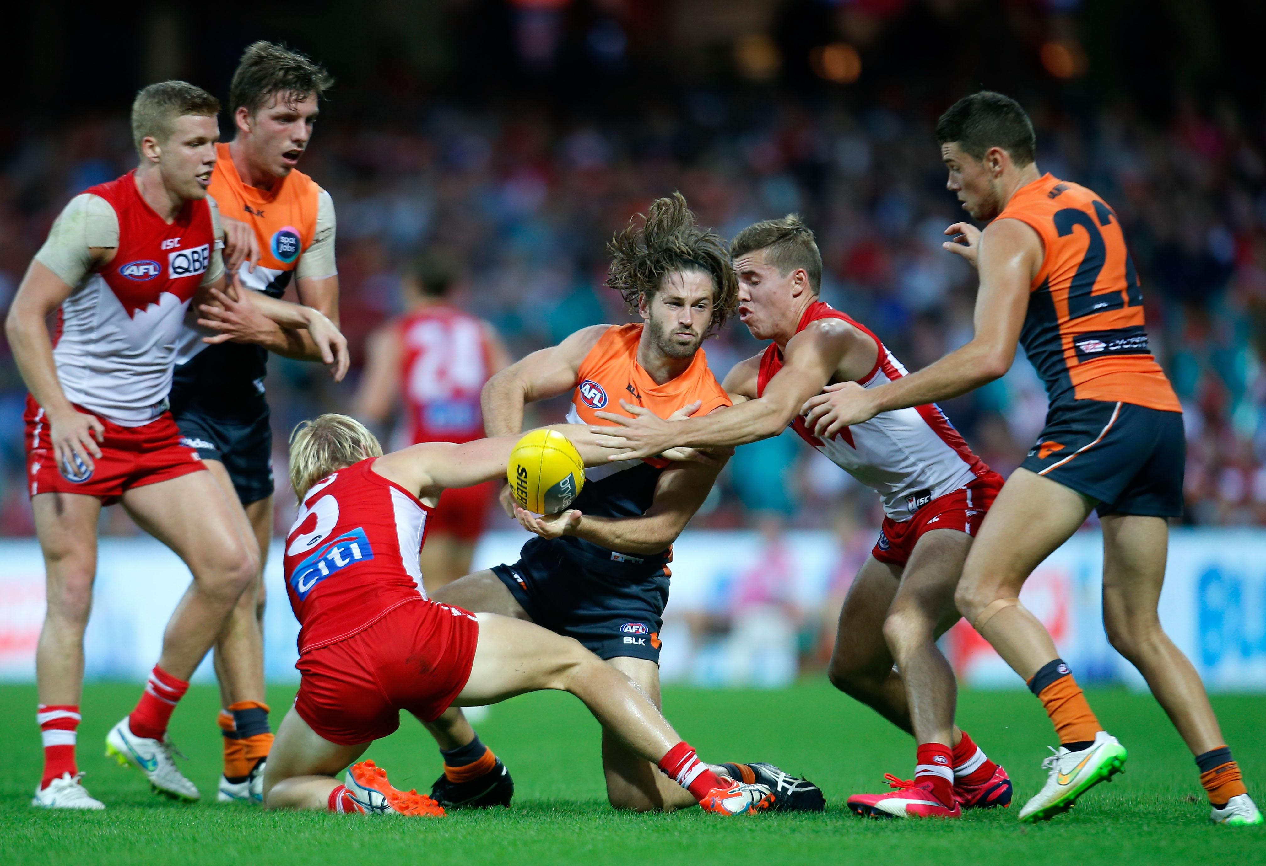 AFL 2015 Rd 03 - Sydney v GWS Giants
