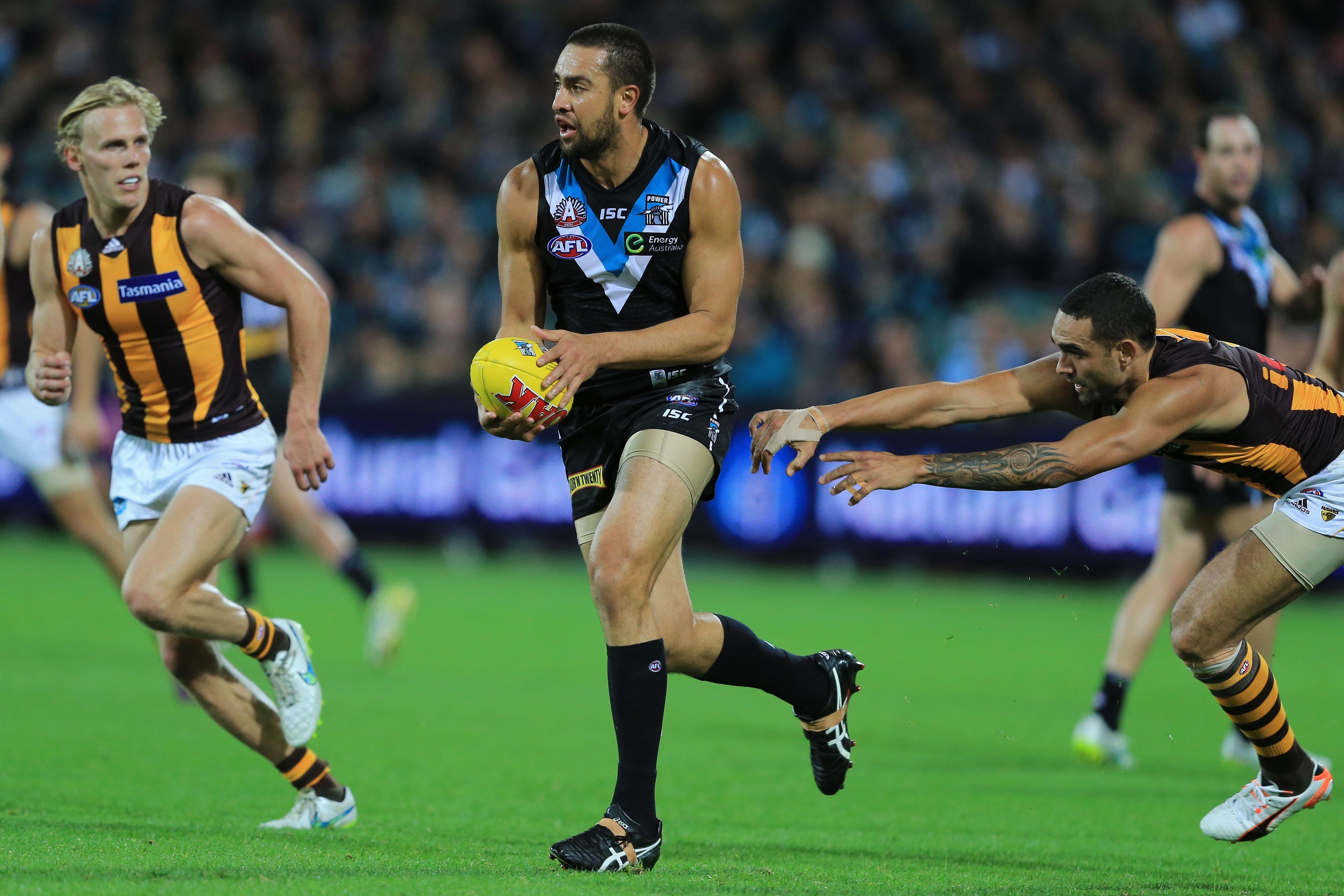 AFL 2015 Rd 04 - Port Adelaide v Hawthorn